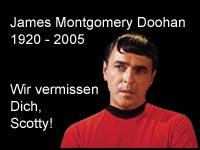 James Montgomery Doohan ist am Mittwoch gestorben
