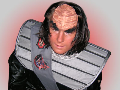 Florian als Klingone