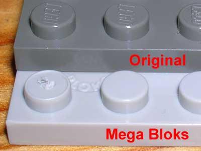 Lego kann mit Mega Blogs kombiniert werden