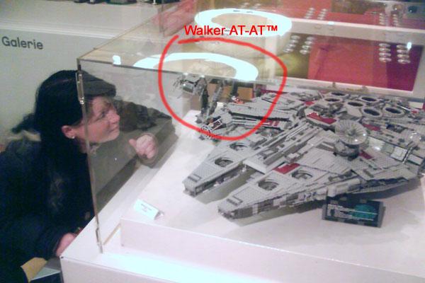 Walker AT-AT aus Lego - Florian Spitzohr