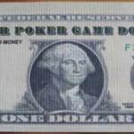 Ein-Dollar-Schein vorne