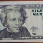 Zwanzig-Dollar-Schein vorne