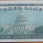Fünfzig-Dollar-Schein hinten