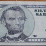 Fünf-Dollar-Schein vorne