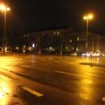 Innsbrucker Ring bei Nacht