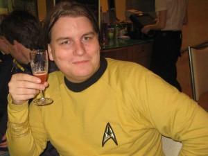 Florian bei der Star Trek Preview im Mathäser