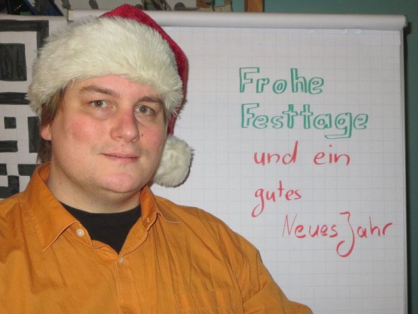 Frohe Festtage 2014