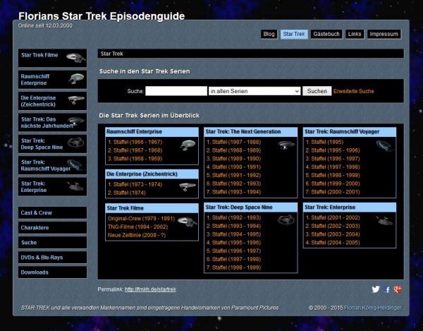 Florians Star Trek Episodenguide