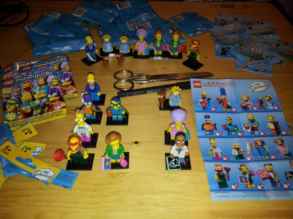 Lego Minifiguren: Simpsons, Serie 2