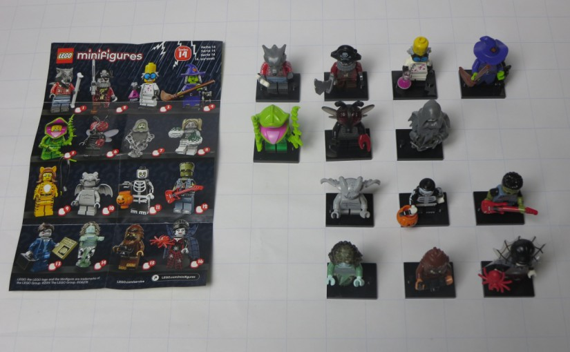 Lego Sammelfiguren Serie 14: Halloween