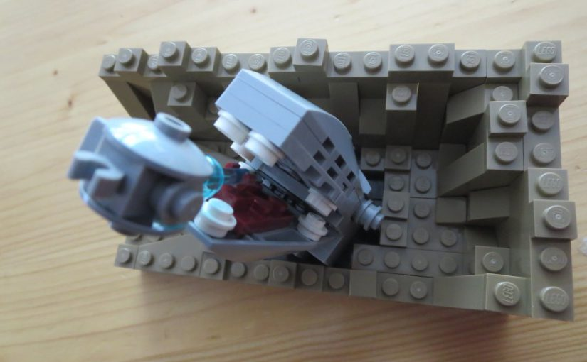 Lego Star Wars: Escape the Space Slug